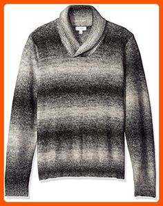 e19637d67ab1d5 Calvin Klein Men s Space Dye Shawl Neck Sweater