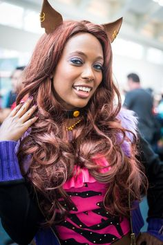 Clawdeen Wolf (Monster High) Cosplay - #SDCC San Diego Comic Con 2014