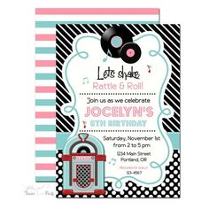 Image result for sock hop invitations templates
