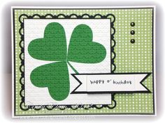 SUO Challenges » Handmade St. Patrick's Day Cards