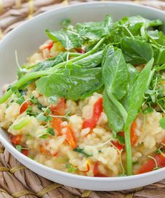 We are wild about this risotto recipe! #dinnerideas