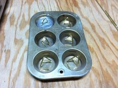 Duck Decoy Weights Moulds Melting Lead For Weights