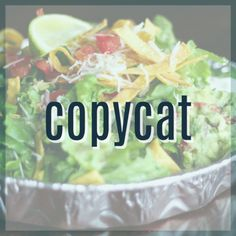 475 best copycat restaurant recipes images cafe rio easy meals