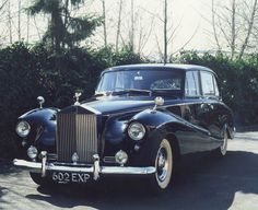 1958 Empress Limousine (with division) by Hooper (chassis ALC11)
