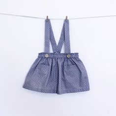 Girl skirt with straps Sewing Pattern – PDF – Instant download Our skirt pattern is so easy to make that youll make in all kind of different materials: cotton and linen blends for the summer and corduroy or wool blendas for the winter! You can make it with or without pockets, with or