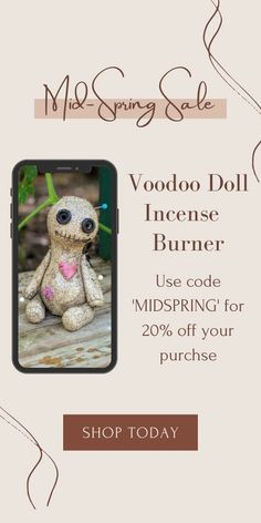 Hand sculpted ceramic voodoo doll. High-fired stoneware, cold glazed. Cone incense burner smokes from eyes & mouth. Currently 60%OFF with Free Shipping!! Only on neulons.com Incense Cones, Voodoo Dolls, Flame Retardant, Incense Burner, Spring Sale, Stoneware, Cold, Eyes, Essentials