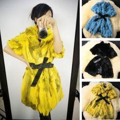 New Spring Coat Natural Faux Fur Coat Female Real Skinny Various Colors