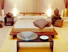 Camera da letto in stile zen n.20
