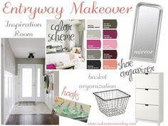 How to create a design board to organize your makeover.