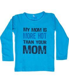 Name It blue mom printed t-shirt