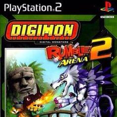 Digimon Rumble Arena 2 (Digimon Battle Chronicle in Japan) is a Digimon fighting game released in 2004 by Bandai Games for the GameCube, PlayStation and the Xbox. Retro Videos, Retro Video Games, Digimon, Top 5 Anime, Ship Games, Gatomon, Gamecube Games, Xbox Games, Batman Arkham Knight