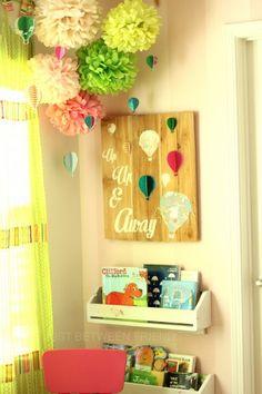 Hot air balloon wall art 4
