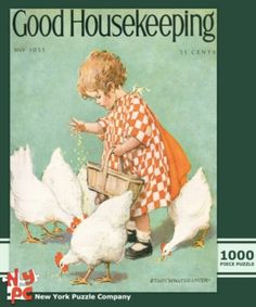 Feeding Time - 1000pc Jigsaw Puzzle by New York Puzzle Co.