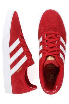 innovative design feb49 920d3 Adidas Busenitz ADV Shoes - University RedRunning WhiteBlack 90.00