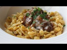 Food Wishes Video Recipes: How to Make Spätzle (aka Spaetzle) – Little Sparrows for Big Meat