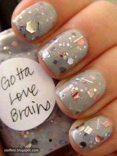grey & glitter