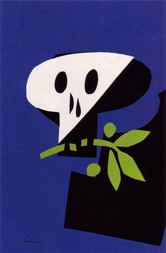 Paul-Rand-poster-against-war
