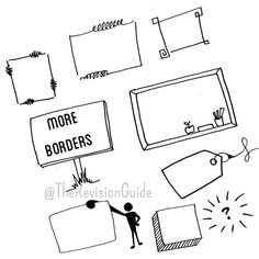 #TheRevisionGuide_StudyTips frames (or borders) are an important part of…