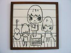 Yoshitomo Nara + graf, Detail of Yogya Bintang House Mini, (2008), Mixed media