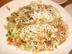 California Pizza Kitchen Thai Crunch Salad knock off.... unreal good.