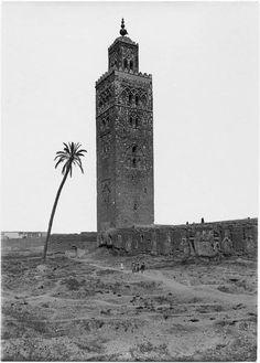 Marrakech Mosquée Koutoubia La Koutoubia (grande mosquée) 1915
