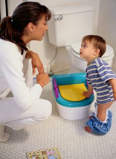 Teach ABC of potty to your little one