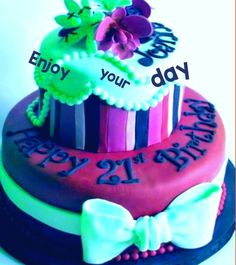 21st birthday greeting cards – wanaabeehere Birthday Greeting Cards, Birthday Greetings, 21st Birthday, Birthday Cake, Happy, Desserts, Birthday Cakes, Anniversary Greeting Cards, Birthday Congratulations