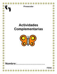 """Hojas de-trabajo-actividades-complementarias-preescolar by U.S.A.E.R VII, MAESTRA DE APOYO EN LA SECUNDARIA 47 """"CUAUHTEMOC"""" T.V via slideshare"""