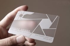 Plastic Business Cards | Clear, Frosted, See Through