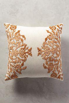Vining Velvet Cushion - anthropologie.com