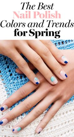 It's all about mixing it up with your go-to manicure.