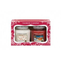 Yankee Candle Christmas Twin Pack Medium Jar Candles Gift Set