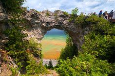 Arch Rock (Mackinac Island, Michigan) -- © 2010 Joe Braun Photography