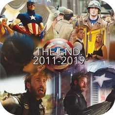 Farewell Cap. Chris Evans was one of the greatest additions to the MCU