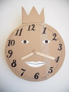 DIY Clock for Kids