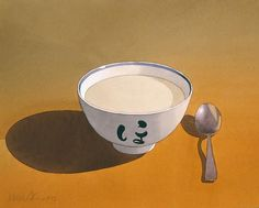 Miso Bowl with Spoon by Mark Adams
