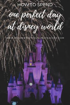 How to spend one day at Disney World - The Traveling Teacher