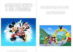Fazendo a Nossa Festa - Colorir: Mickey e Minnie - Livrinho de Atividades!