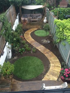Small Backyard Gardens, Small Backyard Design, Backyard Garden Design, Small Backyard Landscaping, Garden Landscape Design, Small Gardens, Backyard Pools, Backyard Ideas, Landscaping Ideas