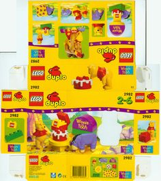 Lego Duplo packaging