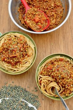 Why is this vegan lentil ragu our favourite you might ask? Because it's wholesome, herby and rich, and it always keeps us coming back for more. When we want a flavoursome sauce or filling for any Italian dish, this is our absolute go to recipe. Easy Vegan Dinner, Vegan Dinner Recipes, Delicious Vegan Recipes, Vegan Dinners, Pasta Recipes, Healthy Recipes, Vegan Desserts, Breakfast Recipes, Healthy Food