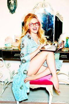 Kylie Minogue for Stylist by Ellen Von Unwerth