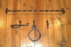 Hand Forged Bath Set  This hand forged bath set is made by me in my blacksmith shop here in West Virginia USA.  This set contains...   24