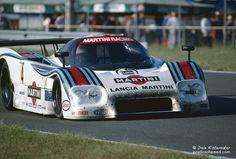 Bob Wollek / Alessandro Nannini - Lancia LC2-84 - Martini Racing - LII Grand Prix d'Endurance les 24 Heures du Mans - 1984 FIA World Endurance Championship, round 3