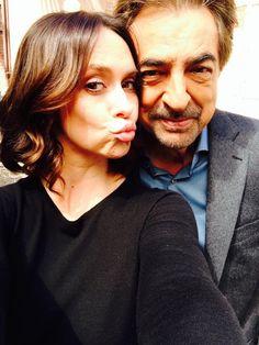 Jennifer Love Hewitt and Joe Mantegna - Criminal Minds #CriminalMinds