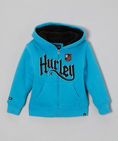 Take a look at this Blue 'Hurley' Hoodie - Toddler & Boys by Hurley on #zulily today!