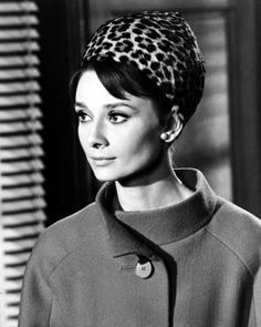 Audrey Hepburn wearing Givenchy in 'Charade'.