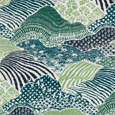 Product Type: Fabric Manufacturer: Robert Allen Fabric Categories: Green / Teal / Navy White Fabric Brand: Robert Allen@Home Pattern Name: Windsor Park Color Name: Palm CONTENTS 100% COTTON WIDTH 55 HORIZONTAL REPEAT 27 VERTICAL REPEAT 25.25 Washing Instructions : Dry clean We use