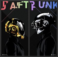Daft Punk on Behance