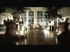 Hilary Duff - Come Clean (Official Music Video) Candles as centerpieces